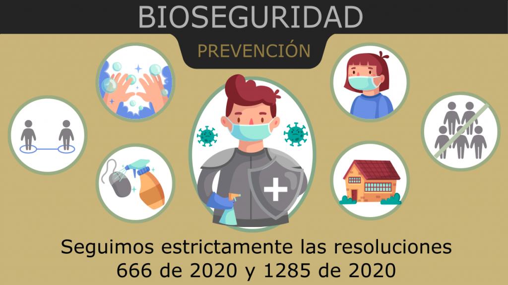 Cumplimiento normas de bioseguridad
